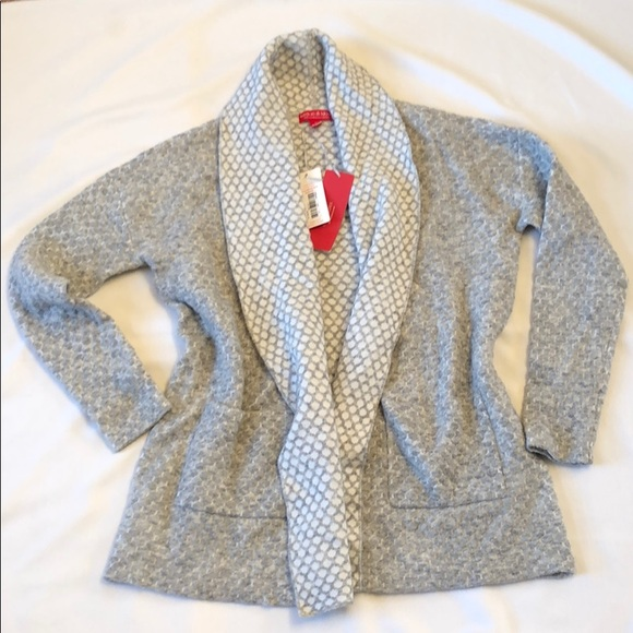 NWT Krimson Klover Wool Sweater Jacket Cardigan XL